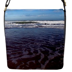 Ocean Surf Beach Waves Flap Messenger Bag (s)