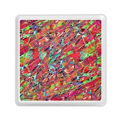 Expressive Abstract Grunge Memory Card Reader (square)  by dflcprints