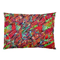 Expressive Abstract Grunge Pillow Case (two Sides) by dflcprints