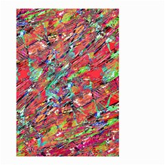 Expressive Abstract Grunge Small Garden Flag (two Sides) by dflcprints