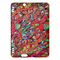 Expressive Abstract Grunge Kindle Fire Hdx Hardshell Case by dflcprints