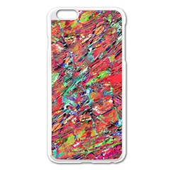 Expressive Abstract Grunge Apple Iphone 6 Plus/6s Plus Enamel White Case by dflcprints