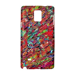 Expressive Abstract Grunge Samsung Galaxy Note 4 Hardshell Case by dflcprints