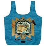 Native American Bag 3 - Full Print Recycle Bag (XL)