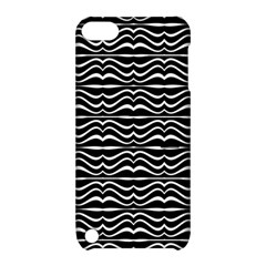 Modern Zebra Pattern Apple Ipod Touch 5 Hardshell Case With Stand by dflcprints