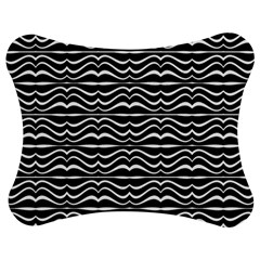Modern Zebra Pattern Jigsaw Puzzle Photo Stand (bow) by dflcprints