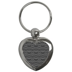 Low Angle View Of Cerro Santa Ana In Guayaquil Ecuador Key Chains (heart)  by dflcprints