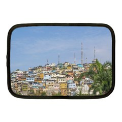 Cerro Santa Ana Guayaquil Ecuador Netbook Case (medium)  by dflcprints