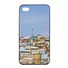 Cerro Santa Ana Guayaquil Ecuador Apple Iphone 4/4s Seamless Case (black) by dflcprints
