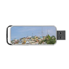 Cerro Santa Ana Guayaquil Ecuador Portable Usb Flash (two Sides) by dflcprints