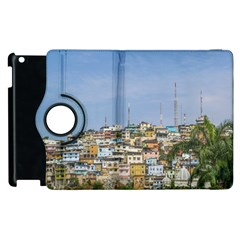 Cerro Santa Ana Guayaquil Ecuador Apple Ipad 3/4 Flip 360 Case by dflcprints