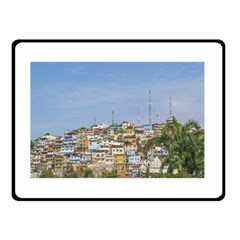 Cerro Santa Ana Guayaquil Ecuador Double Sided Fleece Blanket (small)  by dflcprints