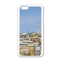 Cerro Santa Ana Guayaquil Ecuador Apple Iphone 6/6s White Enamel Case by dflcprints