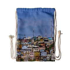 Cerro Santa Ana Guayaquil Ecuador Drawstring Bag (small) by dflcprints