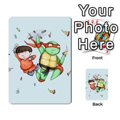 Mike & Tum Tum Multi Purpose Cards (rectangle)  by lvbart