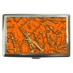 Thorny Abstract, Orange Cigarette Money Cases