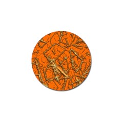 Thorny Abstract, Orange Golf Ball Marker (10 Pack) by MoreColorsinLife
