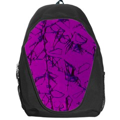 Thorny Abstract,hot Pink Backpack Bag by MoreColorsinLife
