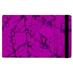 Thorny Abstract,hot Pink Apple Ipad 2 Flip Case by MoreColorsinLife