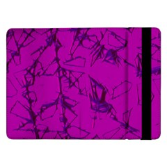 Thorny Abstract,hot Pink Samsung Galaxy Tab Pro 12.2  Flip Case by MoreColorsinLife