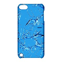 Thorny Abstract,ice Blue Apple Ipod Touch 5 Hardshell Case With Stand by MoreColorsinLife