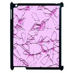 Thorny Abstract,soft Pink Apple Ipad 2 Case (black) by MoreColorsinLife