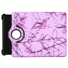 Thorny Abstract,soft Pink Kindle Fire Hd Flip 360 Case by MoreColorsinLife