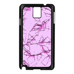 Thorny Abstract,soft Pink Samsung Galaxy Note 3 N9005 Case (black) by MoreColorsinLife
