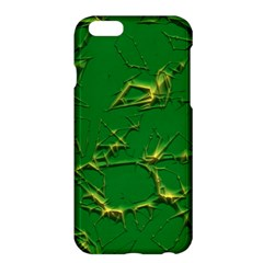 Thorny Abstract,green Apple Iphone 6 Plus/6s Plus Hardshell Case by MoreColorsinLife