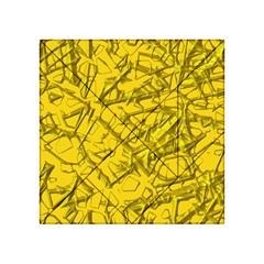 Thorny Abstract,golden Acrylic Tangram Puzzle (4  X 4 ) by MoreColorsinLife