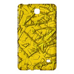 Thorny Abstract,golden Samsung Galaxy Tab 4 (8 ) Hardshell Case  by MoreColorsinLife