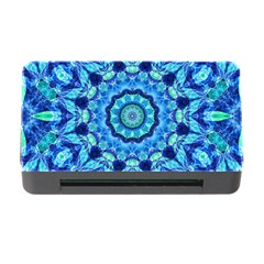 Blue Sea Jewel Mandala Memory Card Reader With Cf by Zandiepants