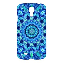 Blue Sea Jewel Mandala Samsung Galaxy S4 I9500/i9505 Hardshell Case by Zandiepants