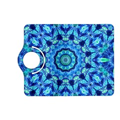 Blue Sea Jewel Mandala Kindle Fire Hd (2013) Flip 360 Case by Zandiepants