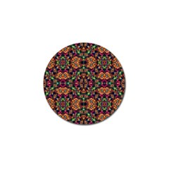 Luxury Boho Baroque Golf Ball Marker (4 Pack) by dflcprints