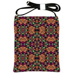 Luxury Boho Baroque Shoulder Sling Bags by dflcprints