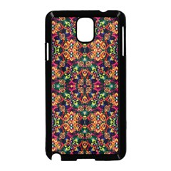 Luxury Boho Baroque Samsung Galaxy Note 3 Neo Hardshell Case (black) by dflcprints