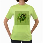 Recently Deceased Women s Green T-Shirt