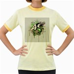 Recently Deceased Women s Fitted Ringer T-Shirts