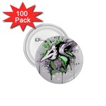 Recently Deceased 1.75  Buttons (100 pack)