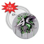Recently Deceased 2.25  Buttons (10 pack)
