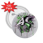 Recently Deceased 2.25  Buttons (100 pack)