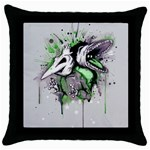 Recently Deceased Throw Pillow Case (Black)