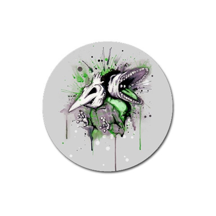 Recently Deceased Magnet 3  (Round)