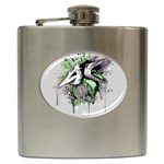 Recently Deceased Hip Flask (6 oz)