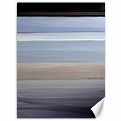 Pompey Beach Canvas 36  X 48