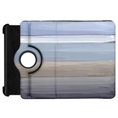 Pompey Beach Kindle Fire Hd Flip 360 Case by DeneWestUK