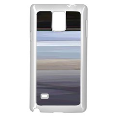 Pompey Beach Samsung Galaxy Note 4 Case (white) by DeneWestUK