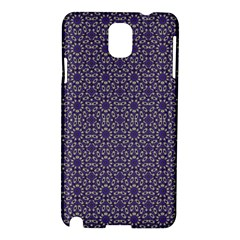 Stylized Floral Check Samsung Galaxy Note 3 N9005 Hardshell Case by dflcprints
