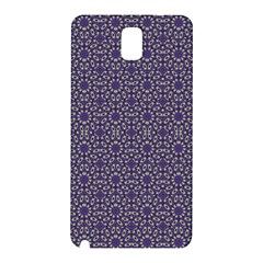 Stylized Floral Check Samsung Galaxy Note 3 N9005 Hardshell Back Case by dflcprints